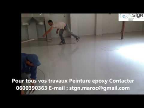 Epoxy Pour Beton Exterieur. Gallery Of Peinture Epoxy Sol Garage