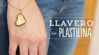 Llavero de Plastilina para mamá | Craftingeek*