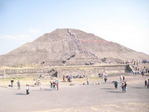 Tenochtitlan Aztec Avenue of the Dead