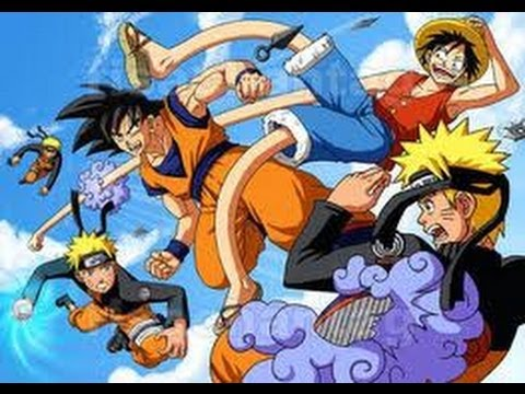 Goku es el personaje mas fuerte del anime notese el - Dbz et one piece ...