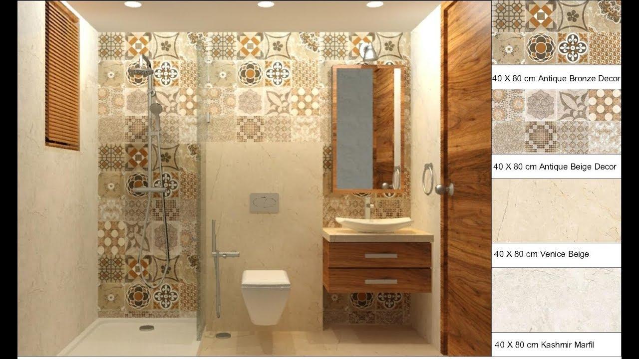 Small Bathroom Design 7 6 L X 4 W X 7 Ht By Using Kajaria Tiles Youtube