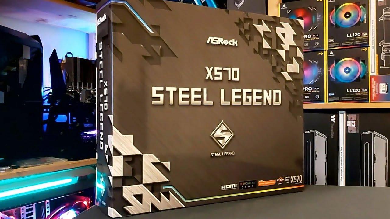 ASRock X570 Steel Legend Motherboard Review - FunkyKit