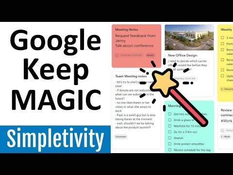 How to use Google Keep Notes like a Pro! (Tips & Tutorial)