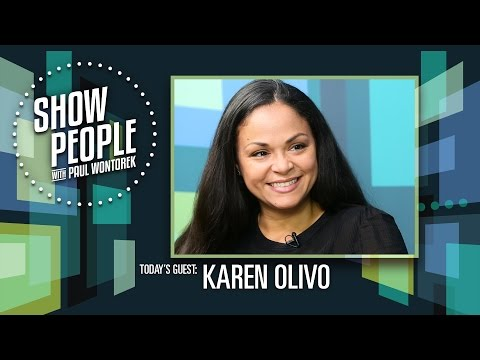 People with Paul Wontorek: Karen Olivo of HAMILTON in Chicago