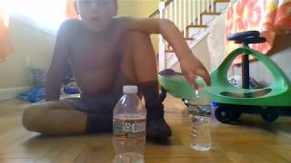 Royal water bottle flip challenge
