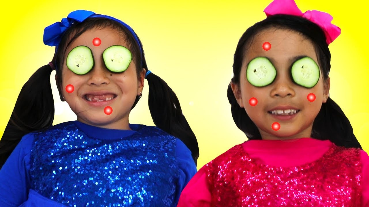 Download Jannie & Lucy Pretend Play Dressing Up to Party