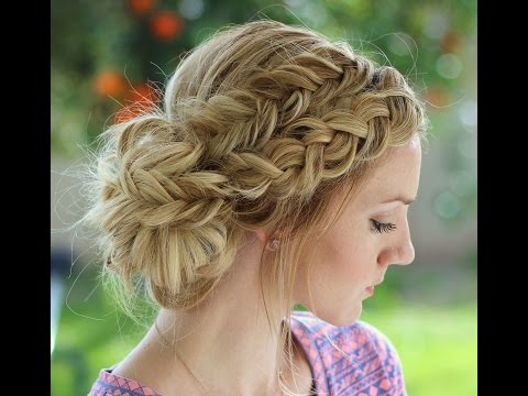 how-to:-dutch-braid-and-dutch-fishtail-braid-messy-bun