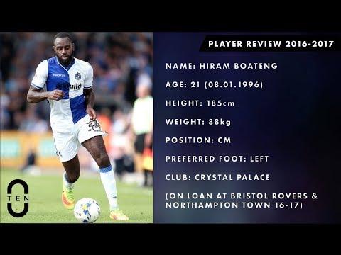 Hiram Boateng - CM - Crystal Palace - 2016-2017 Loan Highlights