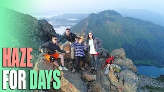 Stuck in a Haze - Sauk Mountain Trail Hike with Brosef - Full Time RV Life