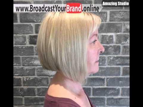 Bob Frisur Für ältere Frauen Youtube