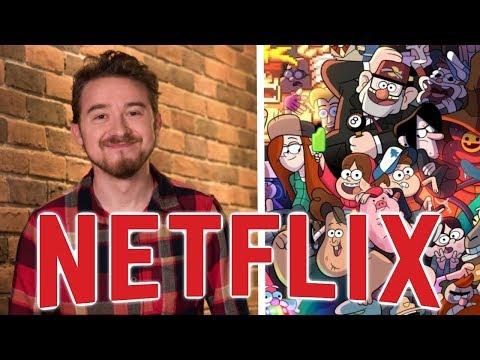 Gravity Falls Creator Developing NEW Netflix Series!