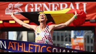 Leichtathletik-EM 2018: Koen Naert und Olga Masuronak gewinnen Marathon