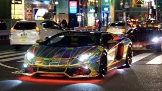 ~クリスマスに六本木を走るド派手なスーパーカー達~/【X'mas night】Supercar in Tokyo thumbnail