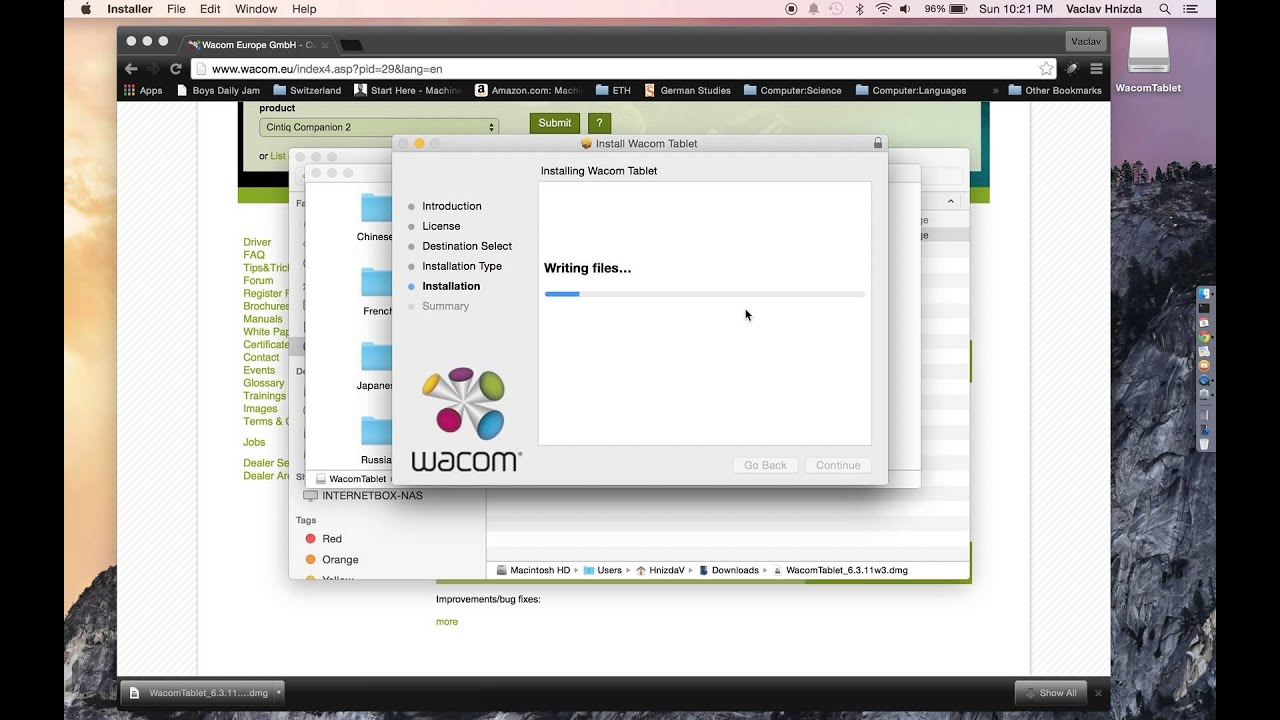 wacom intuos 3 driver mac os 10.14