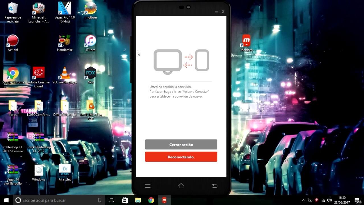 ver pantalla android en pc con usb