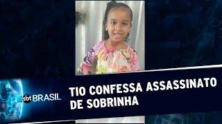 Tio de menina Estela Evangelista confessa o assassinato  SBT Brasil (11/10/19)