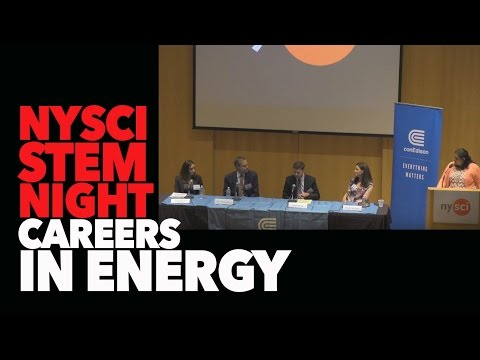 STEM Night : The Future of Energy. Sponsored by CON ED