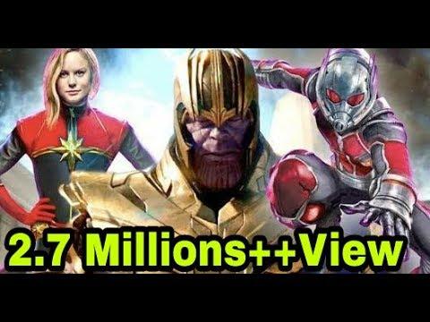 Avengers 4 official !! Trailer