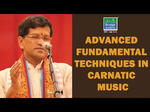 Bridge Academy - Carnatic Music Workshop- Lecture  by Neyveli SANTHANAGOPALAN