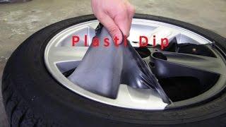 Plasti dip на штамповках r15 хёндай солярис