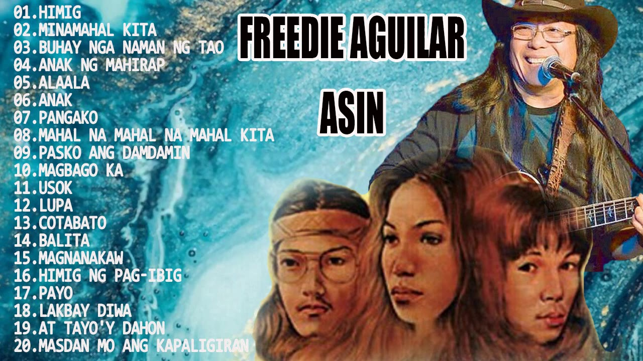 Download Asin, Freddie Aguilar Greatest Hits NON-STOP   Best Classic Relaxing Love Songs Of All Time