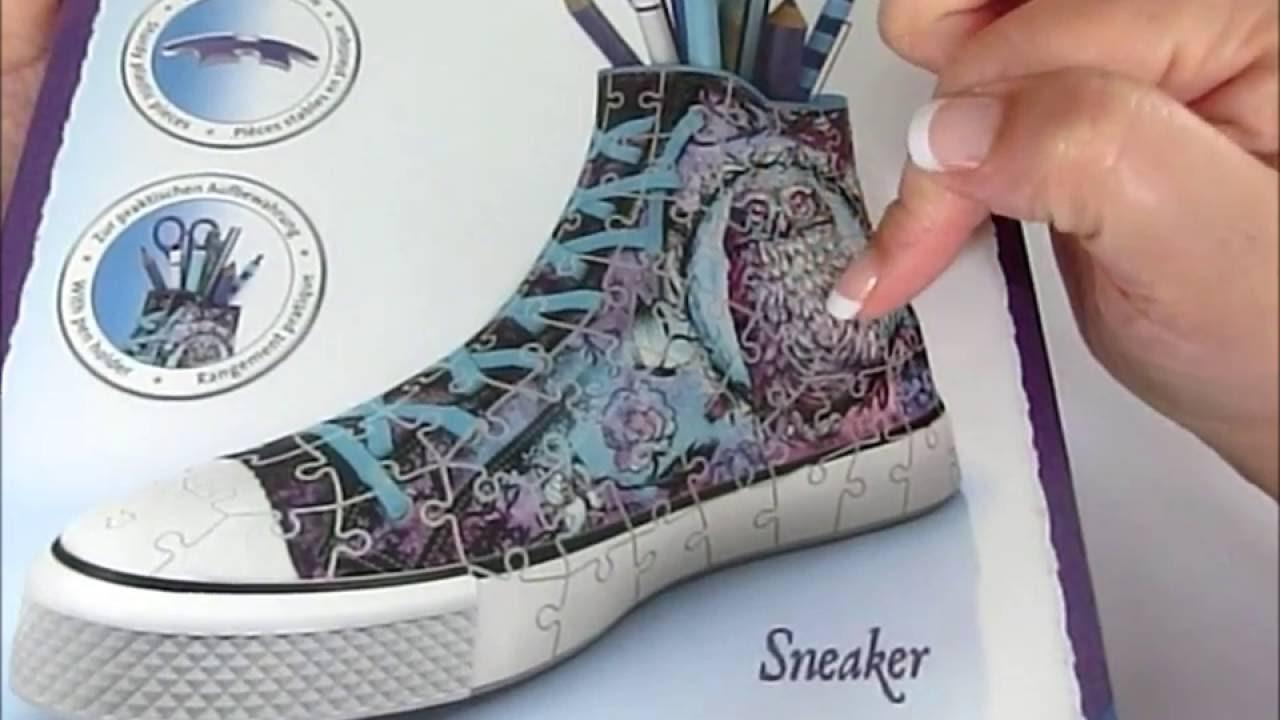 sneaker 3d puzzle
