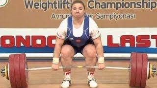 2012 European Weightlifting Championships, Women +75 kg  Тяжелая Атлетика. Чемпионат Европы(, 2016-06-23T10:09:12.000Z)