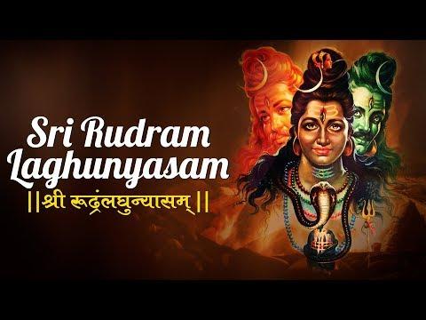 SRI RUDRAM LAGHUNYASAM   SACRED CHANTS   MOST POPULAR LORD SHIVA POOJA SONG   UMA MOHAN