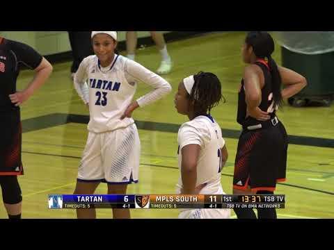 High School Girls Basketball: Tartan vs. Minneapolis South