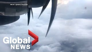 Storm hunters fly into Hurricane Michael