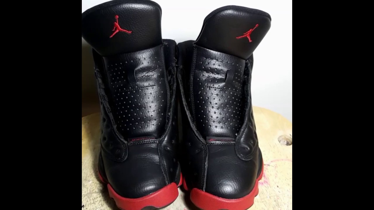 23794a379f6d6a Restore Dirty Bred 13 13s Breds - YouTube