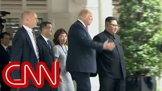 Trump shows Kim Jong Un presidential limousine