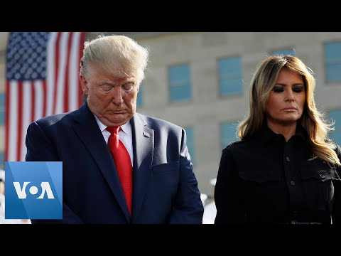 President Donald Trump & First Lady Melania Participate in 9/11 Observance Ceremony at the Pentagon