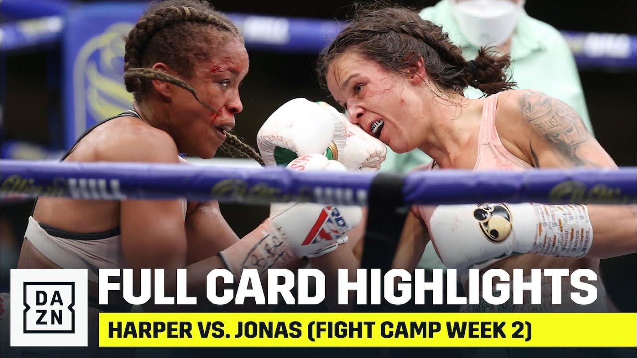 FULL CARD HIGHLIGHTS: Terri Harper vs. Natasha Jonas (Fight Camp Week 2)