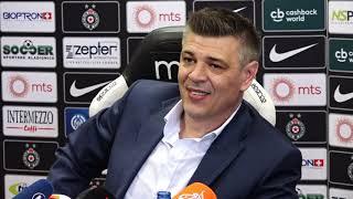 Predstavljanje Sava Miloševića kao Novog Trenera Partizana   SPORT KLUB Fudbal