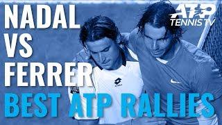 Rafael Nadal v David Ferrer: Best-Ever ATP Rallies