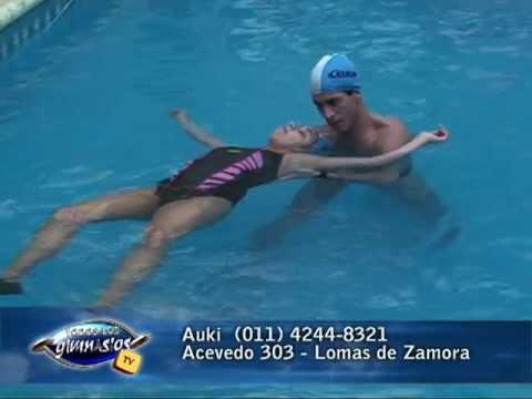Tablas hidroterapia ejercicios t exercises for Ejercicios espalda piscina