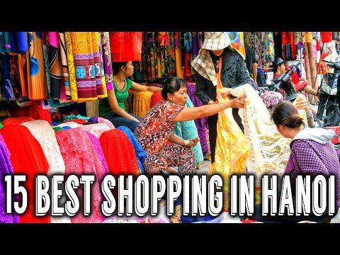 15 Best Shopping Places in Hanoi | Vietnam