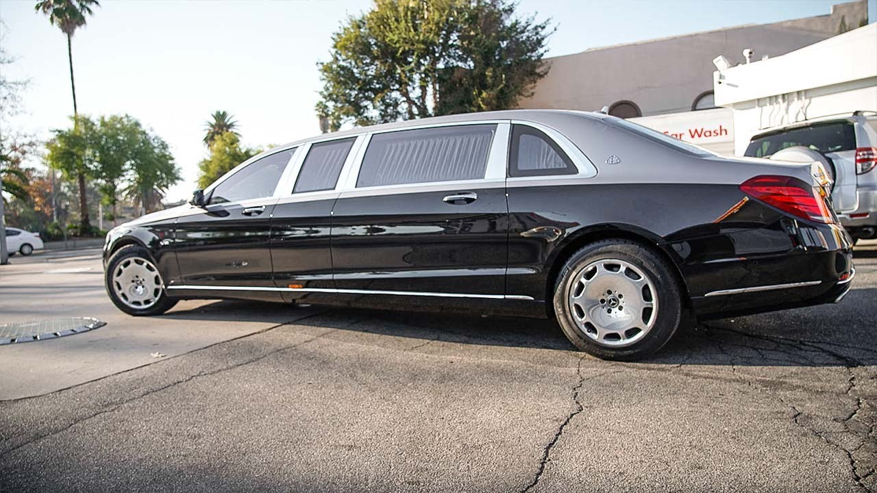 Maybach Pullman Right Side Driving, Ghost, Lowering Ferrari in 3 hours.