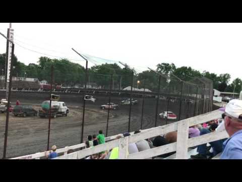 Macon Speedway Hornet Heat 2 6-18-17