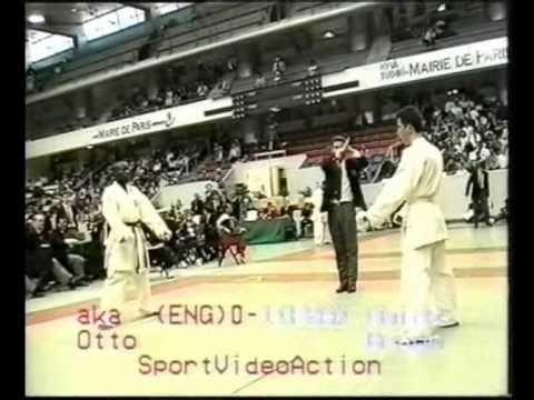 Campeonato De Europa Senior  Paris 1996  WOtto Vs MBraun