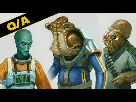 Will We Get a Star Wars Movie With An All Alien Cast - Star Wars Explained Weekly Q&A