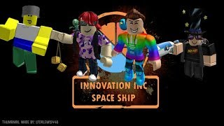 La aventura comienza!!!! (Roblox Innovation Ship) Parte 1