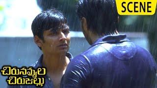 Jiiva Realizes Mistake || Nassar Hospitalized- Emotional Scene -Chirunavvula Chirujallu Movie Scenes
