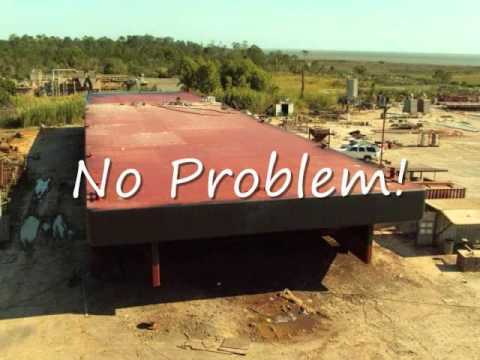 Construction and Launch of a Barge from www.timarine.com