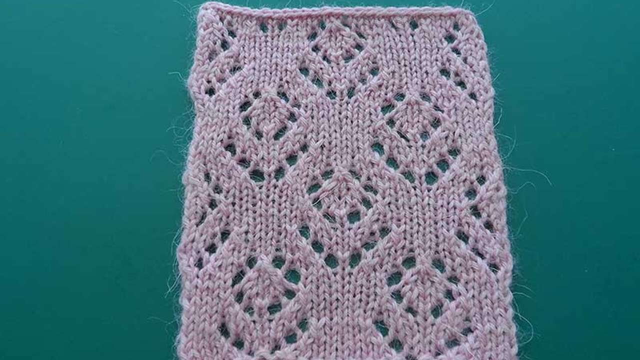 How to knit crochet openwork patterns 32