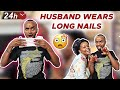 Gambar cover HILARIOUS COUPLES CHALLENGE | KABI WAJESUS WEARS LONG NAILS FOR 24 HRS
