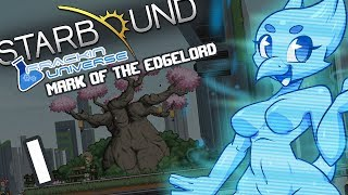 [MODDED] Starbound (Frackin Universe) Part 1: Mark of the Edgelord