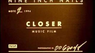 Nine Inch  Nails - Closer