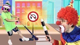 Как осторожно дети должны вести себя на улице! Правильное поведение